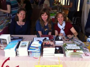 Word on the Street, September, 2014 with Kate Inglis and Jessica Scott Kerrin (and Woozles:)