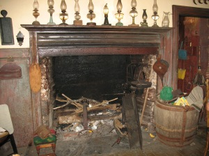 Hearth, as it has been since 1805 in this authentic Cape