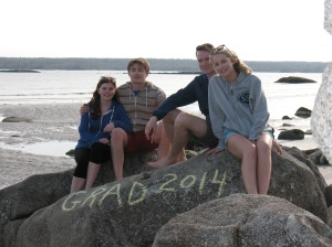 "Our ""four"" kids:), Port Joli, NS, 2014"
