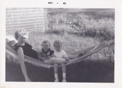 Mum, Nance and me 1962