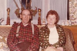 Nana and Gramps Pearson