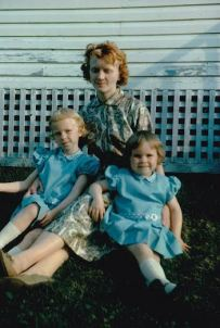 Nance, Mum and me
